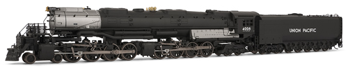 Union Pacific Big Boy Steam Engine #4008 - DCC Ready (HO)