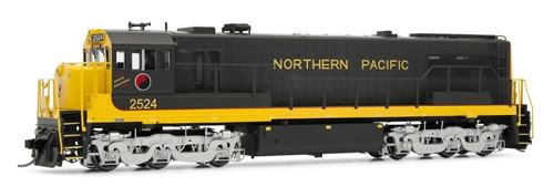 Rivarossi 2521 - General Electric U25C Diesel Locomotive 2515 of the Northern Pacific (DCC Sound Decoder)