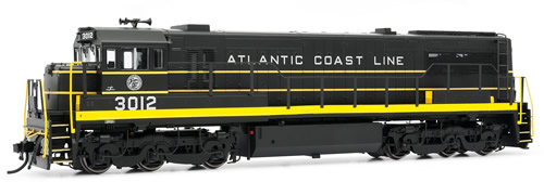 Rivarossi 2537 - General Electric U25C Diesel Locomotive 3012 of the Atlantic Coast Line (DCC Sound Decoder)