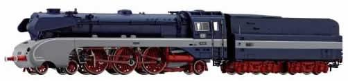 Rivarossi 2827 - Express Train steam locomotive with tender series 10 - DB (AC)