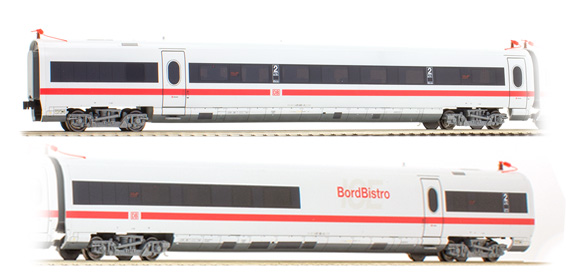 Rivarossi 4105 - German Passenger Coach ICE-T Set Class 415 of the DB