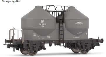 Rivarossi 6150 -  Silo wagon Ucs type Zkz, DR