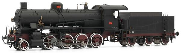 Rivarossi HR2382 - Steam locomotive Gr740 306 3-axles tender, FS