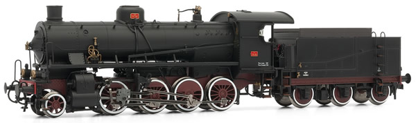 Rivarossi HR2382 - Steam locomotive Gr740 306 3-axles tender, FS