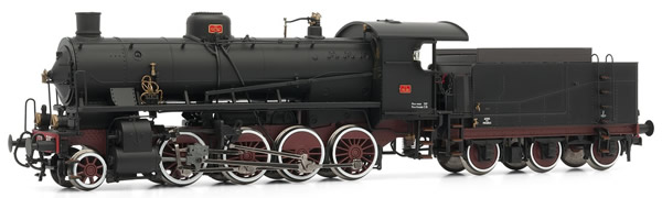 Rivarossi HR2383 - Italian Steam locomotive Gr740 306 of the FS (DCC Sound Decoder)
