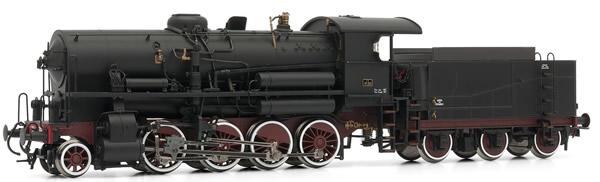 Rivarossi HR2384 - Italian steam locomotive Gr741 205 of the FS; with 3 axle tender