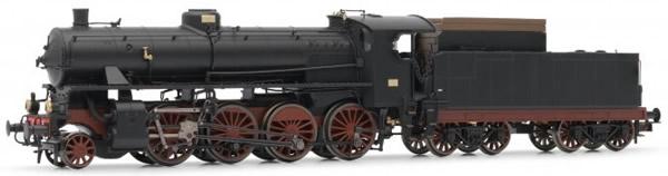 Rivarossi HR2457 - Italian steam locomotive Gr.744 of the FS; with Walschaerts gear