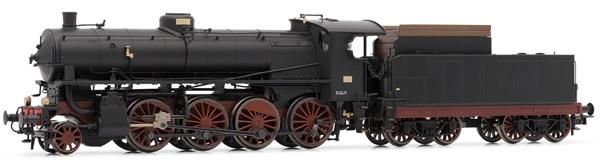 Rivarossi HR2459 - Italian steam locomotive Gr.744  of the FS; with Caprotti gear