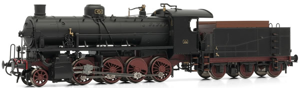 Rivarossi HR2484 - Italian Steam Locomotive Class Gr.740 of the FS (DCC Sound Decoder)