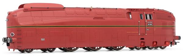 Rivarossi HR2603 - Steam locomotive 61 002, DRG, red livery,DCC Sound
