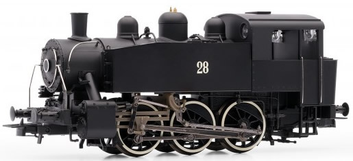 Rivarossi HR2641 - Italian steam locomotive S100 of the FS; ex USATC, black livery