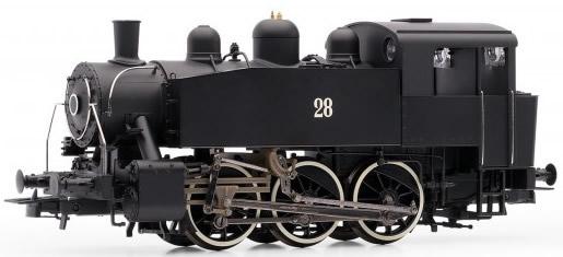 Rivarossi HR2641 - Italian steam locomotive S100 of the FS; ex USATC, black livery