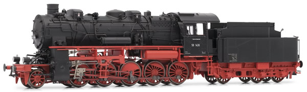 Rivarossi HR2718S - German Steam Locomotive BR 58.10-21 of the DB with 3-dome boiler - DCC Sound Decoder
