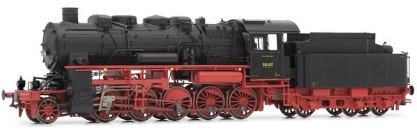 Rivarossi HR2720S - German Steam Locomotive Class 58.10-21 of the DRG (DCC Sound Decoder)
