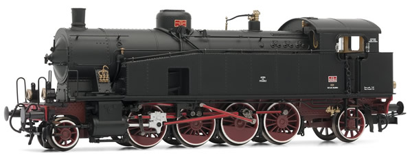 Rivarossi HR2724 - Italian Steam Locomotive Gr. 940 of the FS with oil lamps