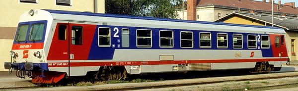 Rivarossi HR2757 - Austrian Diesel railcar series 5047 of the ÖBB
