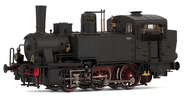 Rivarossi HR2787S - Italian Steam locomotive Gr. 835 of the FS (DCC Sound Decoder)