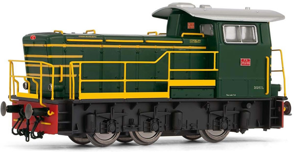Rivarossi HR2793S - Italian Diesel locomotive class 245 of the FS (DCC Sound Decoder)