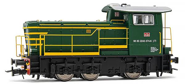 Rivarossi HR2794 - Italian Diesel locomotive class 245 of the FS