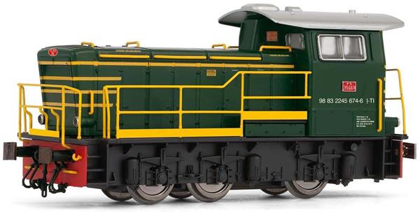 Rivarossi HR2794S - Italian Diesel locomotive class 245 of the FS (DCC Sound Decoder)