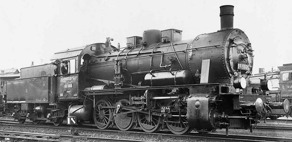 Rivarossi HR2808S - German Steam locomotive class 55.25 of the DRG (DCC Sound Decoder)