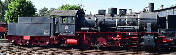 Rivarossi HR2809 - German Steam locomotive class 55.25 of the DB