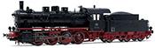 Rivarossi HR2809S - German Steam locomotive class 55.25 of the DB (DCC Sound Decoder)