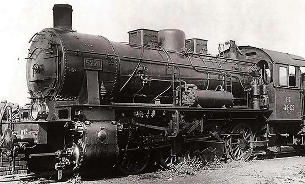 Rivarossi HR2811S - Italian Steam locomotive Gr. 460 of the FS (DCC Sound Decoder)