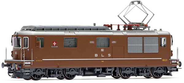 Rivarossi HR2812ACS - Swiss Electric locomotive Re 4/4 161 Domodossolaof the BLS (Sound Decoder)