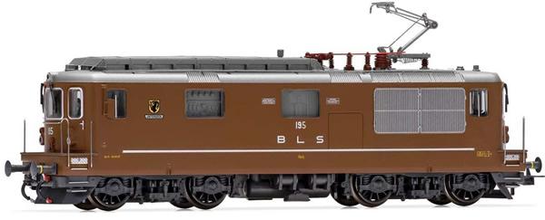 Rivarossi HR2814S - Swiss Electric locomotive Re 4/4 195 Unterseen of the BLS (DCC Sound Decoder)