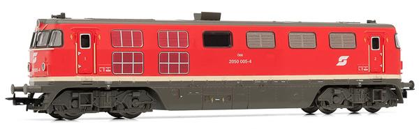 Rivarossi HR2818S - Swiss Diesel locomotive class 2050 of the ÖBB (DCC Sound Decoder)