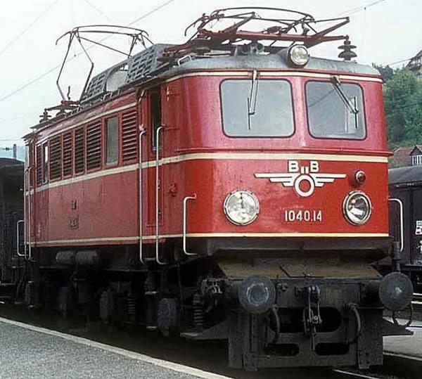 Rivarossi HR2820ACS - Austrian Electric locomotive series 1040 of the ÖBB (Sound Decoder)