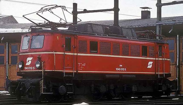 Rivarossi HR2821D - Austrian Electric locomotive series 1040 of the ÖBB
