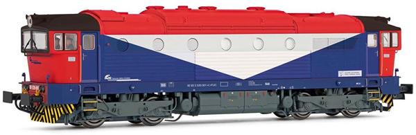 Rivarossi HR2845 - Italian Diesel locomotive DE520 of the FS