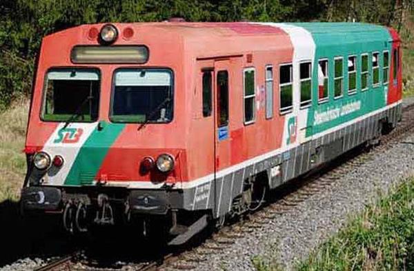 Rivarossi HR2850S - Italian Diesel railcar class 5047 Steiermärkische Landesbahn (DCC Sound Decoder)