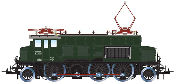 Rivarossi HR2853S - German Electric locomotive class E 33 of the DB (DCC Sound Decoder)