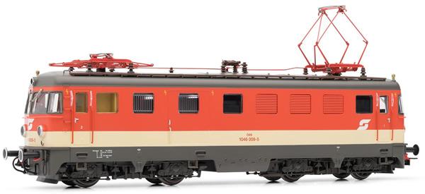 Rivarossi HR2854S - Austrian Electric locomotive 1046 009-5 Valousek of the OBB (DCC Sound Decoder)