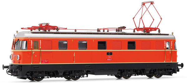 Rivarossi HR2855S - Austrian Electric locomotive class 1046.17 of the OBB (DCC Sound Decoder)