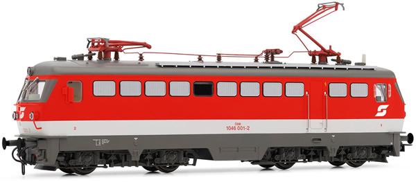 Rivarossi HR2856S - Austrian Electric locomotive class 1046 001-2 of the OBB (DCC Sound Decoder)