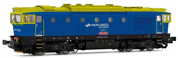 Rivarossi HR2864S - Polish Diesel locomotive class D753.7 of the PKP Cargo (DCC Sound Decoder)