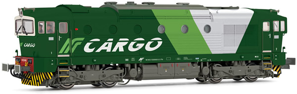 Rivarossi HR2865S - Italian Diesel locomotive DE 520 of the NordCargo (DCC Sound Decoder)