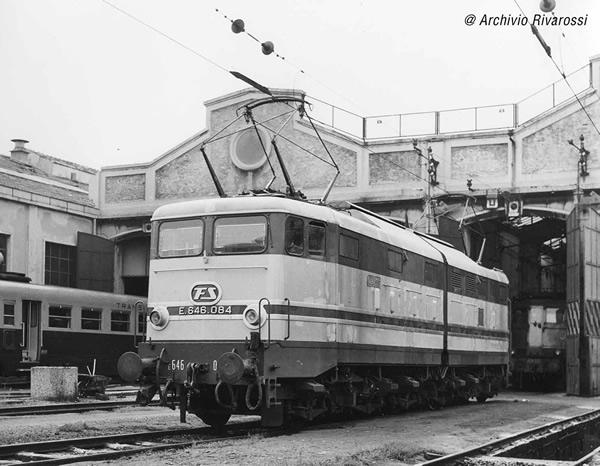 Rivarossi HR2867S - Italian Electric locomotive E.646 2nd series of the FS (DCC Sound Decoder)