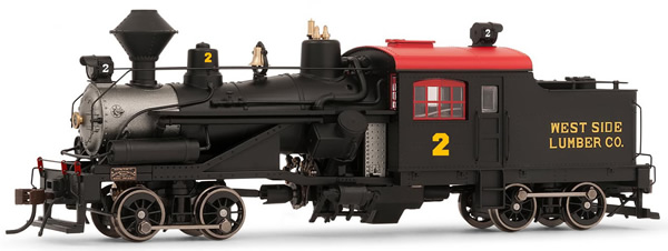 Rivarossi HR2880 - USA Heisler Steam locomotive Westside Lumber Co.