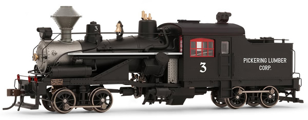 Rivarossi HR2881 - USA Heisler Steam locomotive Pickering Lumber Corp. no. 3