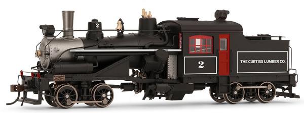 Rivarossi HR2882 - USA Heisler Steam locomotive  The Curtis Lumber Co. no. 2