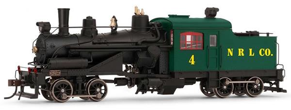 Rivarossi HR2883 - USA Heisler Steam locomotive Northern Redwood Lumber Company no.4