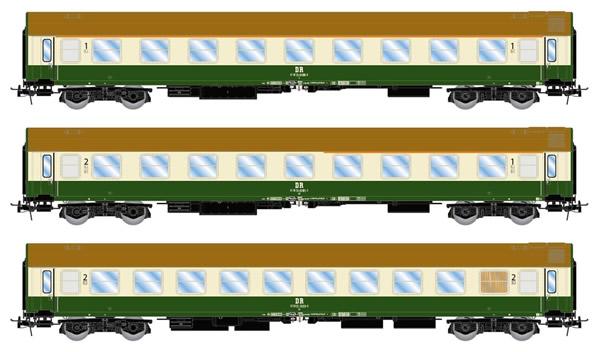 Rivarossi HR4259 - 3pc Coach Set