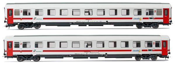 Rivarossi HR4284 - 2pc 2nd Class Passenger coaches type UIC-Z