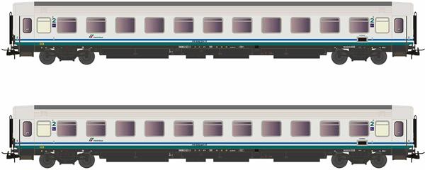 Rivarossi HR4286 - 2pc 2nd Class Passenger coaches type UIC-Z