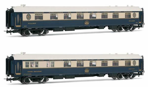 Rivarossi HR4322 - Venice-Simplon-Orient-Express, 2-unit pack of restaurant coaches